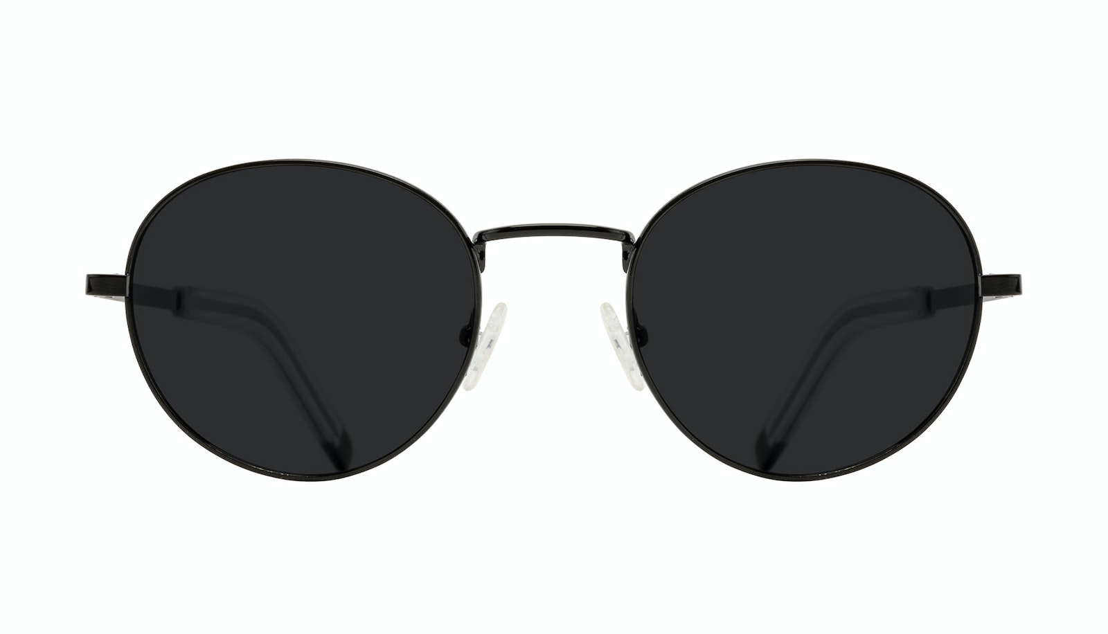 Affordable Fashion Glasses Round Sunglasses Men Lean L Black