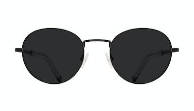 Lunettes tendance Ronde Lunettes de soleil Hommes Lean XL Black Face