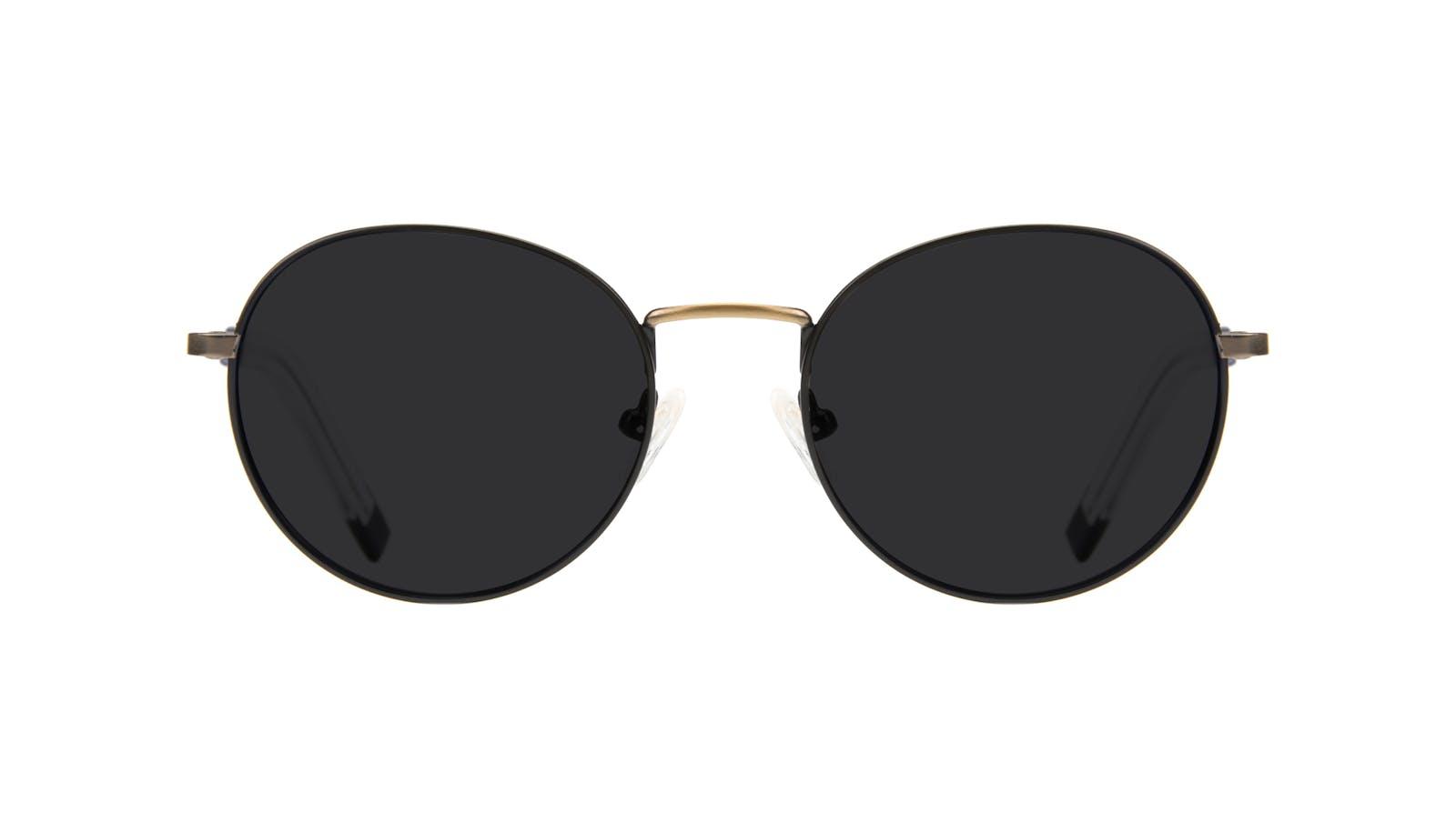 04b55a741fc Affordable Fashion Glasses Round Sunglasses Men Lean Dark Brass