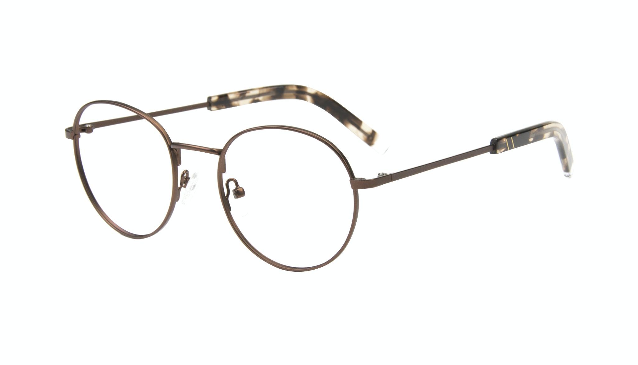 Affordable Fashion Glasses Round Eyeglasses Men Lean Mud Tilt
