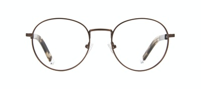 Affordable Fashion Glasses Round Eyeglasses Men Lean XS Mud Front