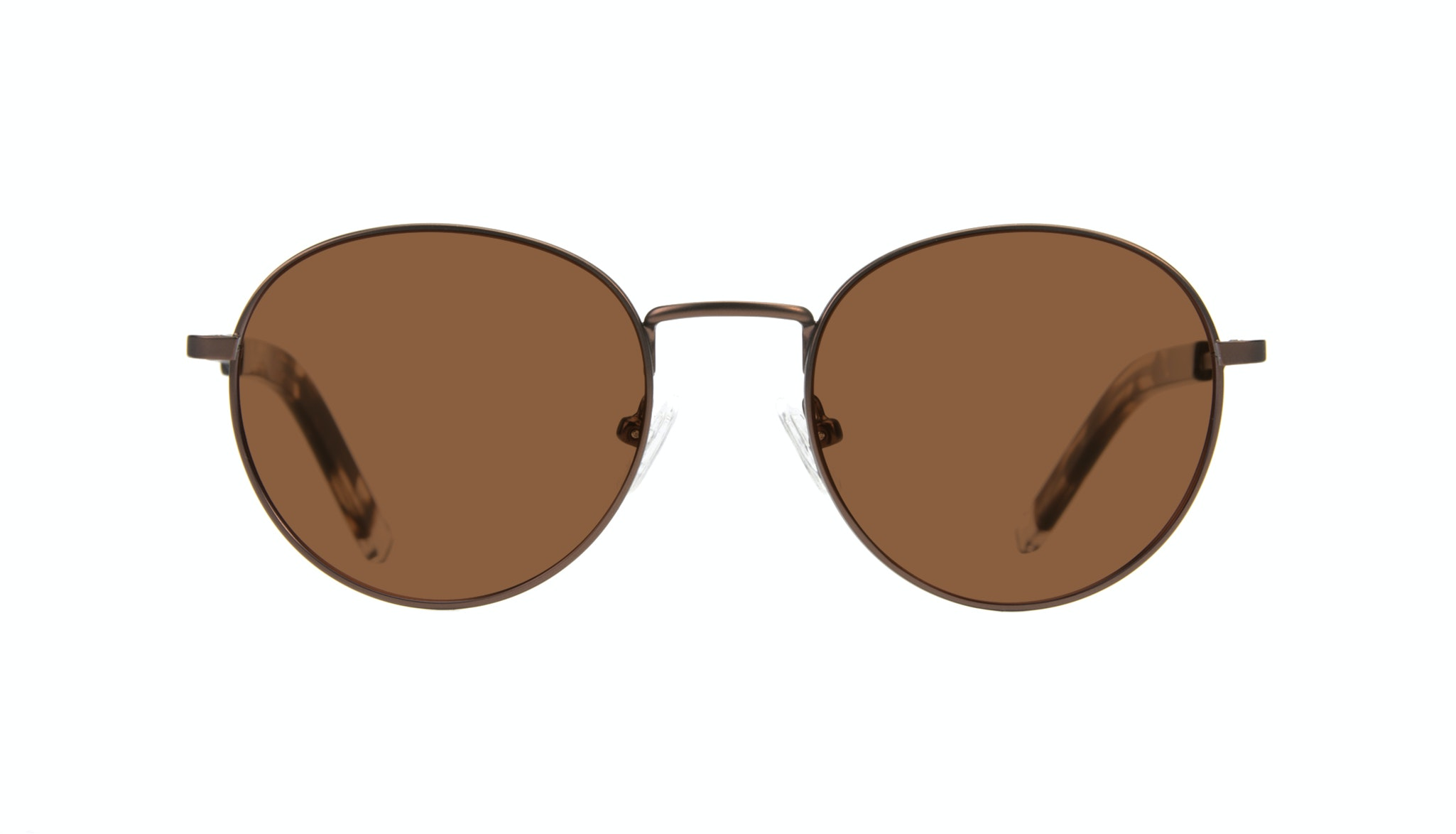 Affordable Fashion Glasses Round Sunglasses Men Lean Mud Front
