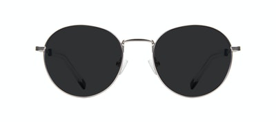 Affordable Fashion Glasses Round Sunglasses Men Lean Steel Front