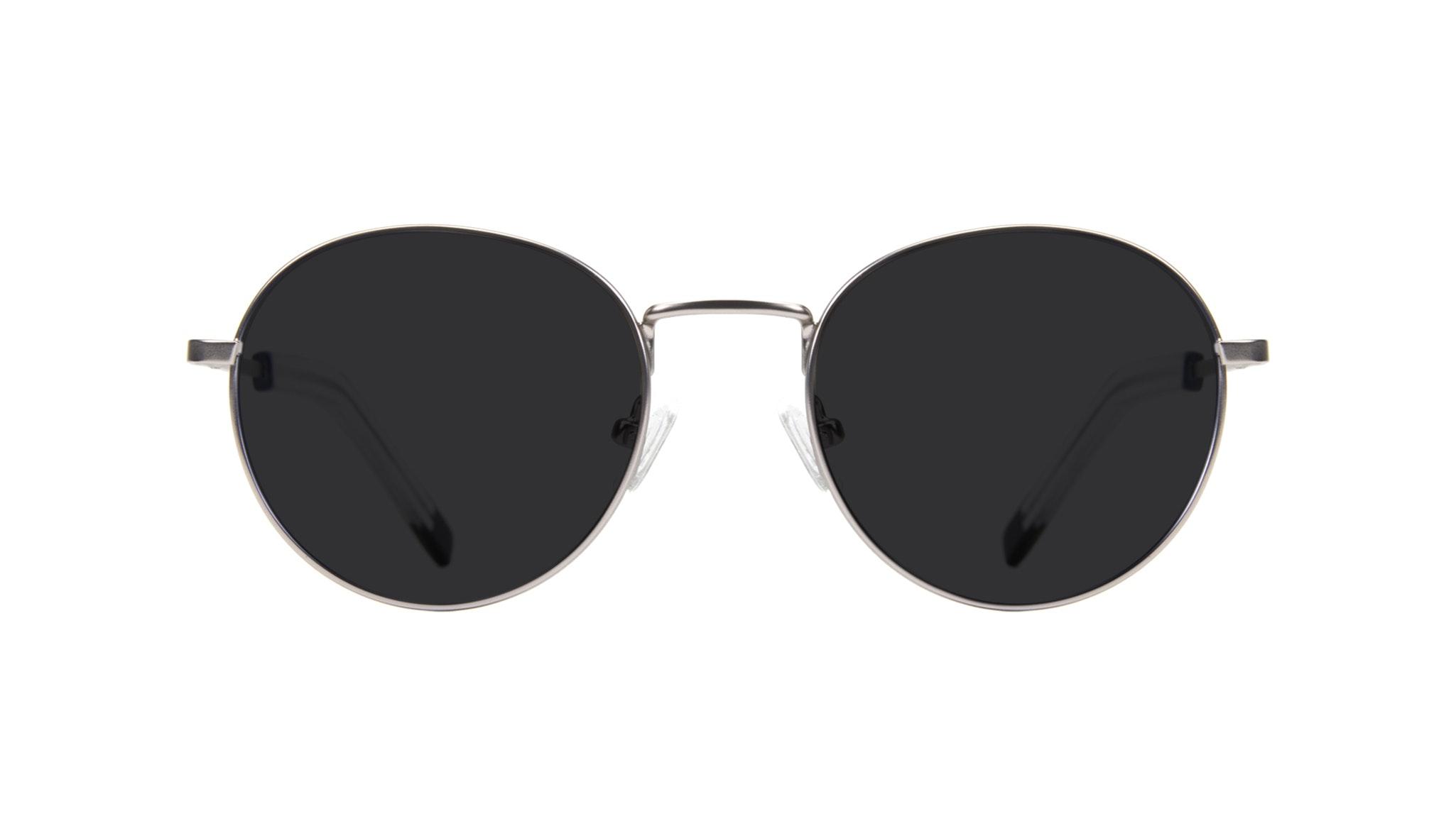 Affordable Fashion Glasses Round Sunglasses Men Lean Steel