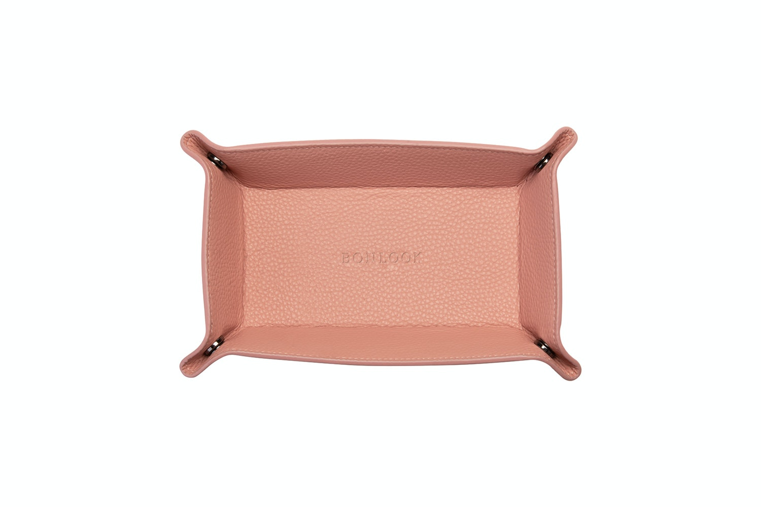 Affordable Fashion Glasses Accessory Men Women Leather Tray Rosette Front