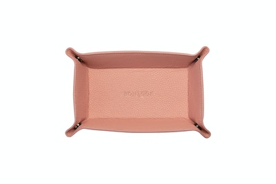 Affordable Fashion Glasses Accessory Women Leather Tray Rosette Front