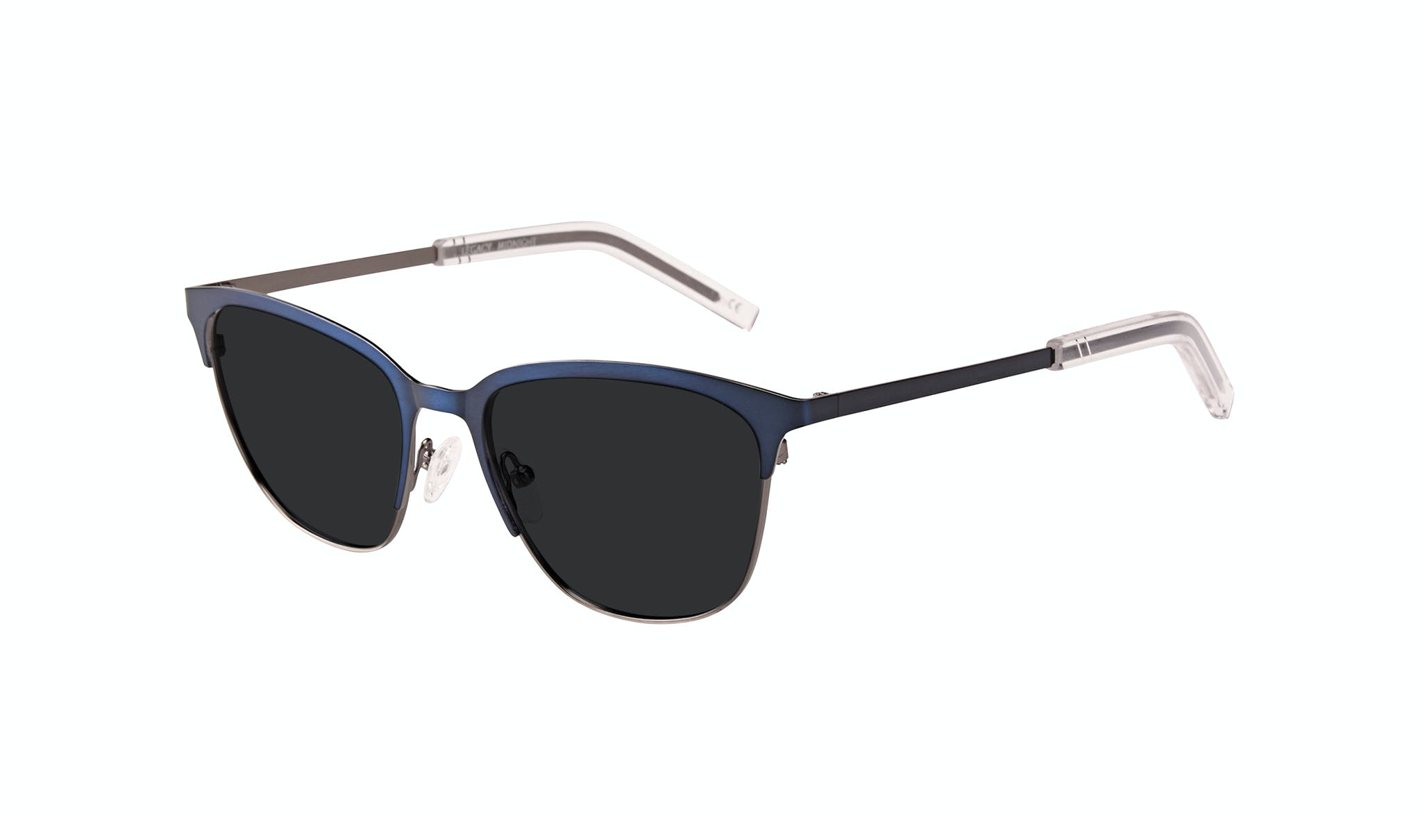 Affordable Fashion Glasses Rectangle Sunglasses Men Legacy Midnight Tilt