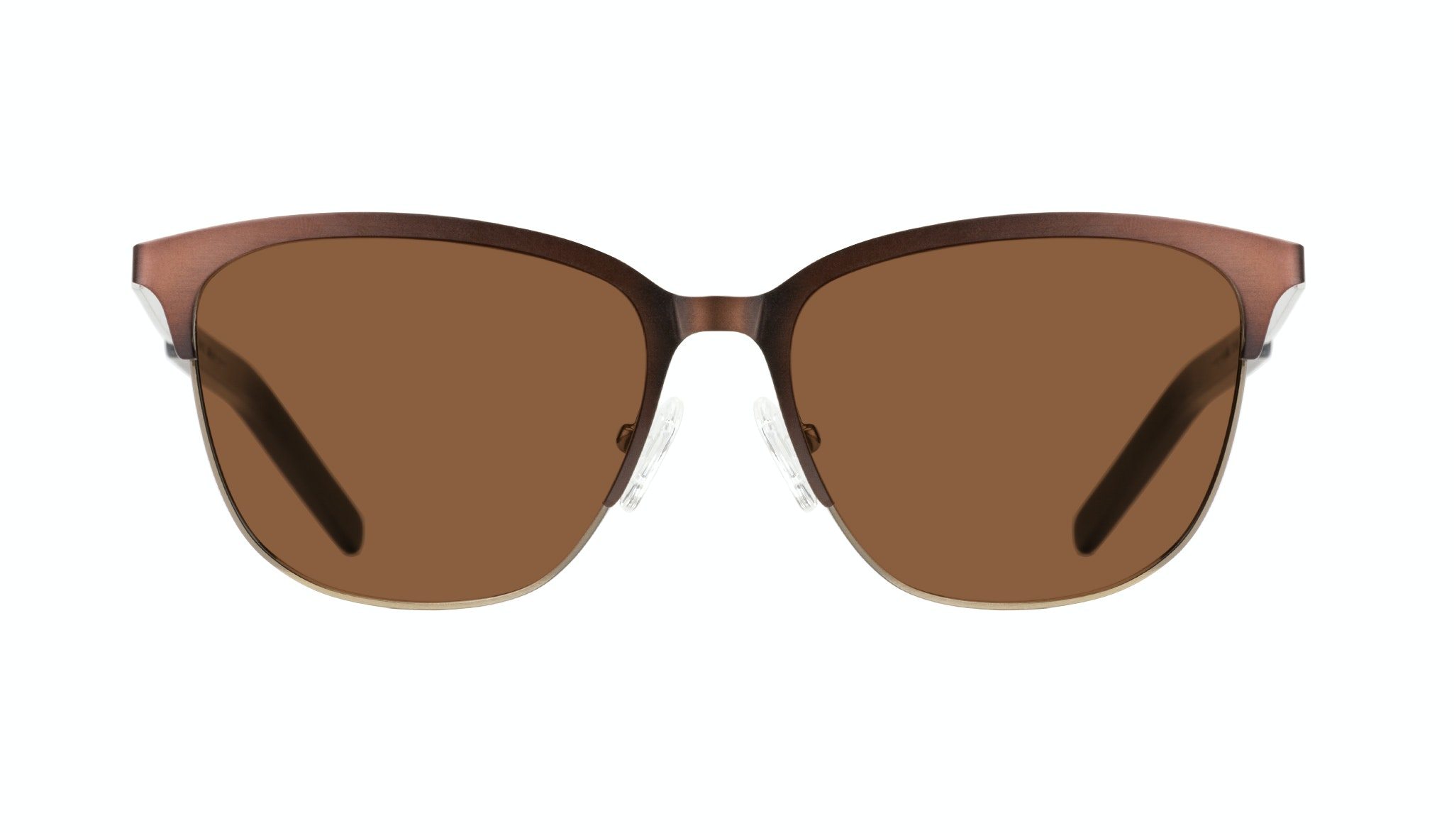 Affordable Fashion Glasses Rectangle Sunglasses Men Legacy Mud Gold Front