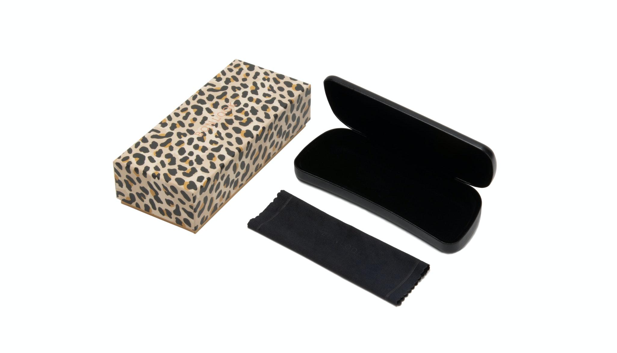 Lunettes tendance Accessoire Hommes Femmes Classic Bonlook Case Leopard