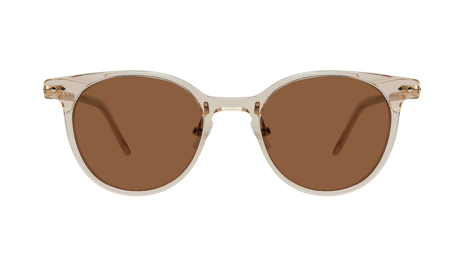 Affordable Fashion Glasses Round Sunglasses Women Lightheart Blond