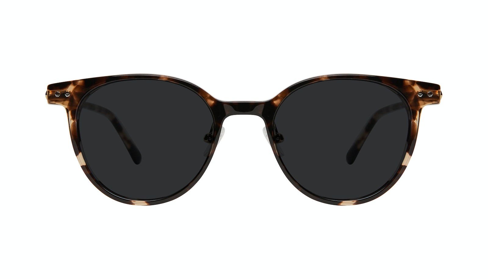 Affordable Fashion Glasses Round Sunglasses Women Lightheart Leopard