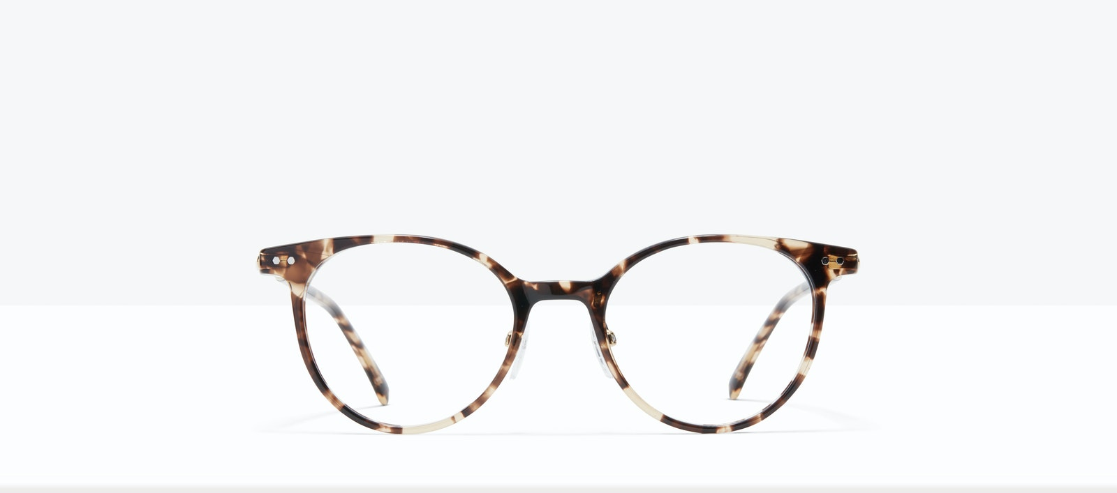 Affordable Fashion Glasses Round Eyeglasses Women Lightheart L Leopard Front