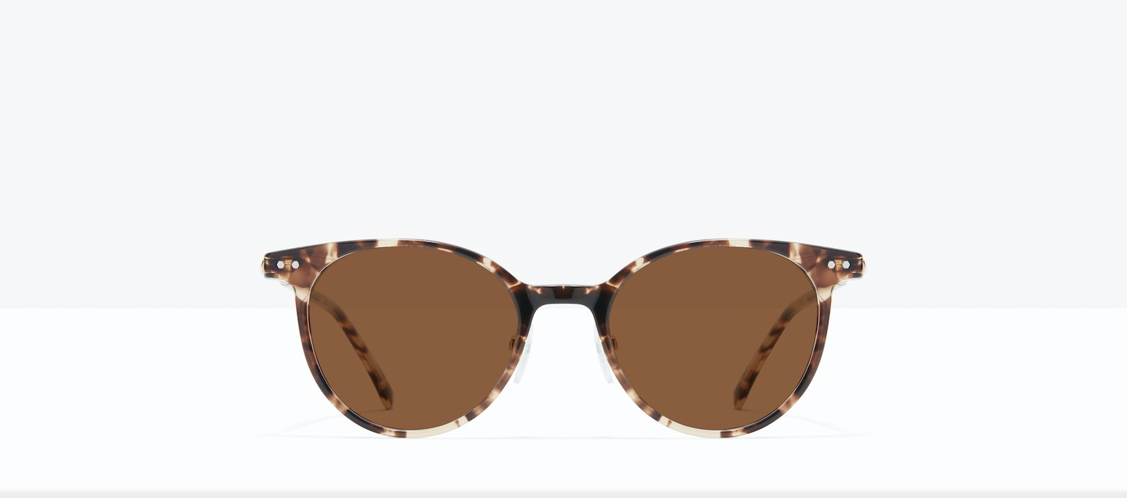 Affordable Fashion Glasses Round Sunglasses Women Lightheart L Leopard Front