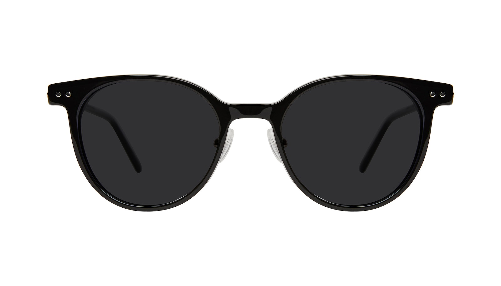 Affordable Fashion Glasses Round Sunglasses Women Lightheart Onyx