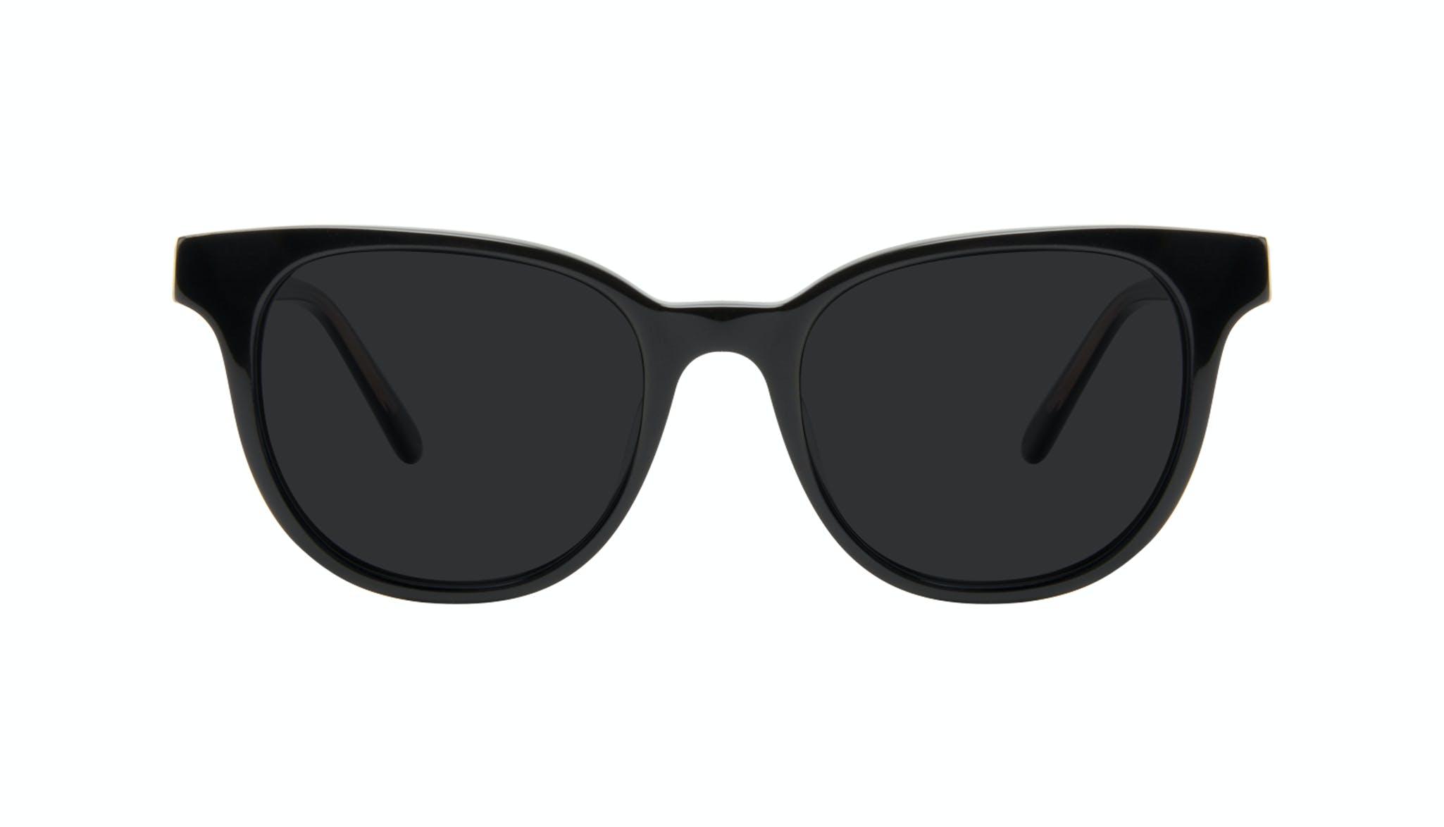 Lunettes tendance Carrée Lunettes de soleil Femmes Lively Black