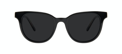 Affordable Fashion Glasses Square Sunglasses Women Lively Black Front