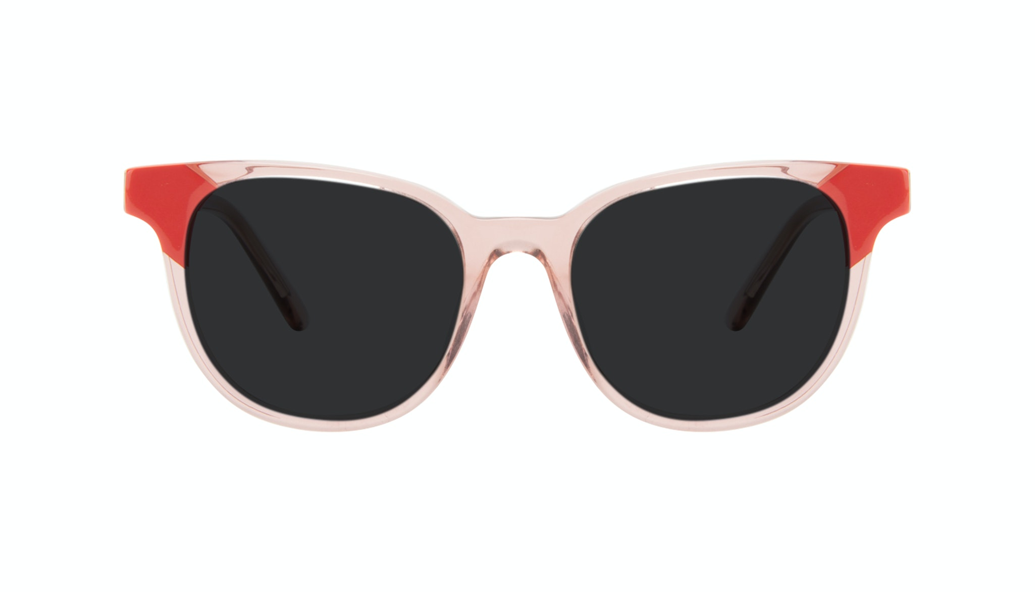 Affordable Fashion Glasses Square Sunglasses Women Lively Pink Coral