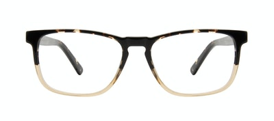 Affordable Fashion Glasses Rectangle Eyeglasses Men Loft Golden Tortoise Front