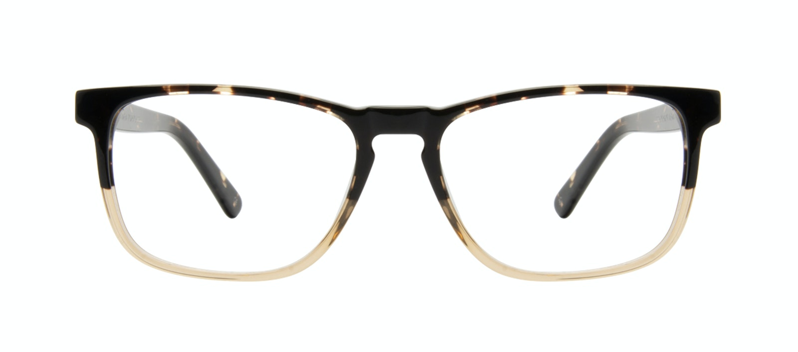 Affordable Fashion Glasses Rectangle Eyeglasses Men Loft Golden Tortoise Front