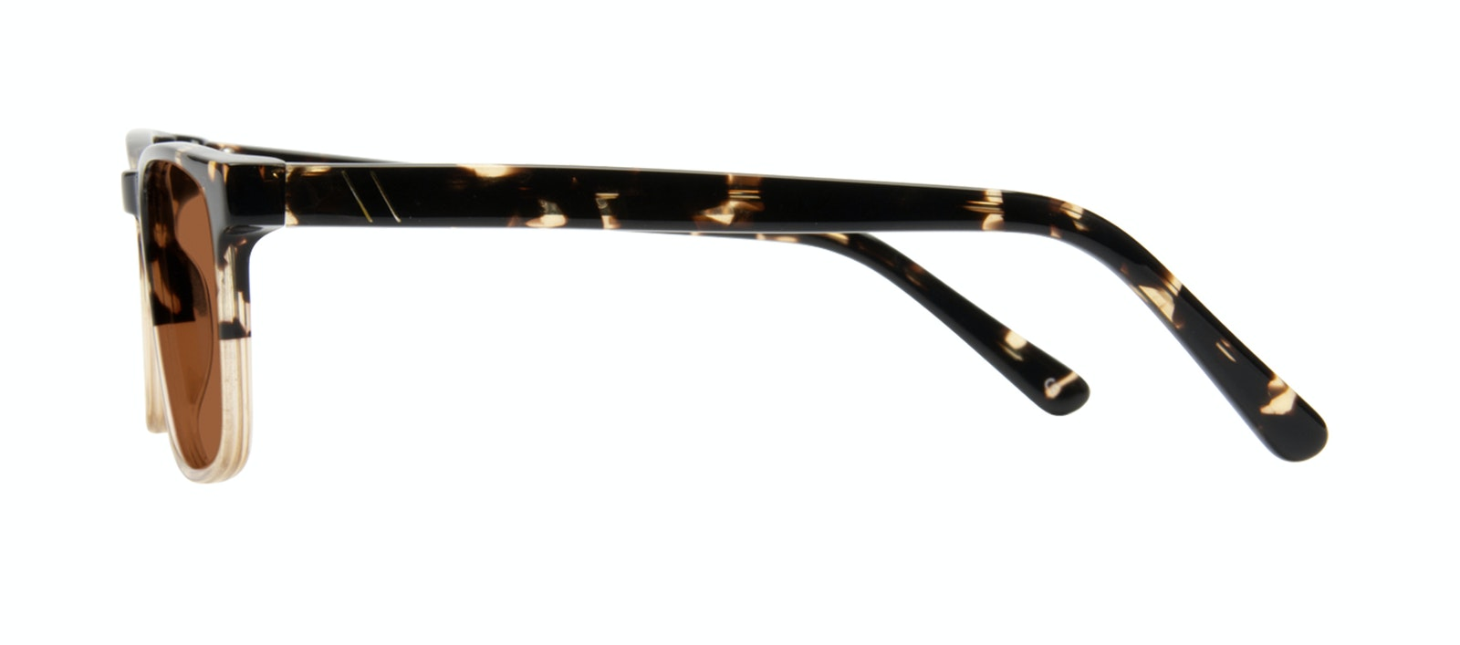 Affordable Fashion Glasses Rectangle Sunglasses Men Loft Golden Tortoise Side