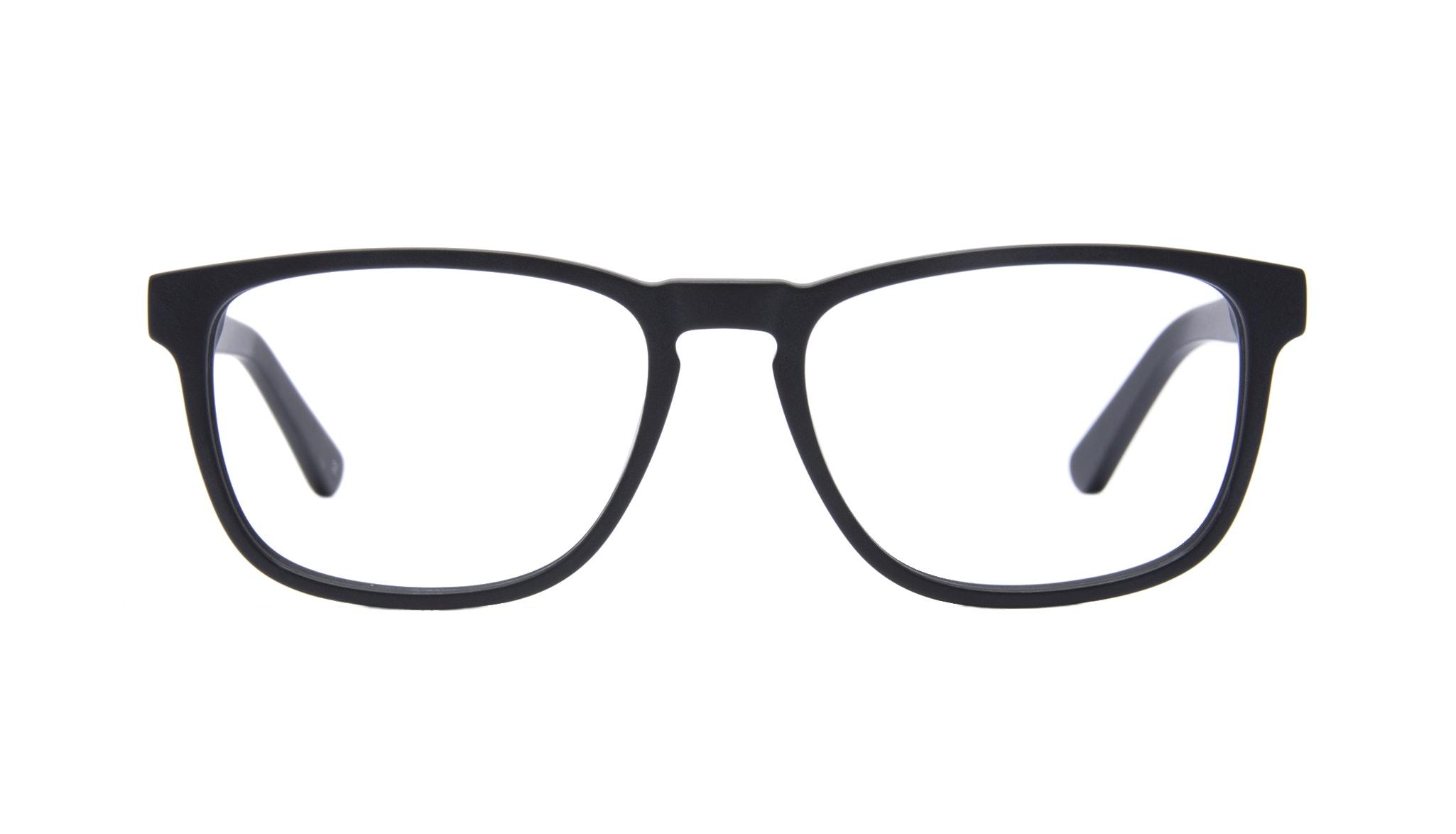 Affordable Fashion Glasses Rectangle Eyeglasses Men Loft Matte Black