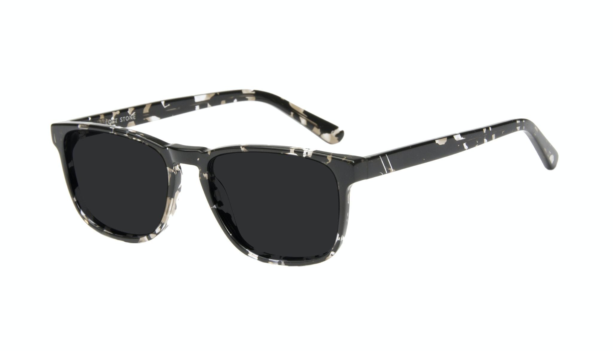 Affordable Fashion Glasses Rectangle Sunglasses Men Loft Stone Tilt