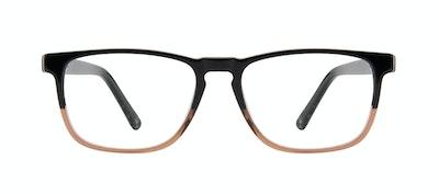 Affordable Fashion Glasses Rectangle Eyeglasses Men Loft Wood Terra Front