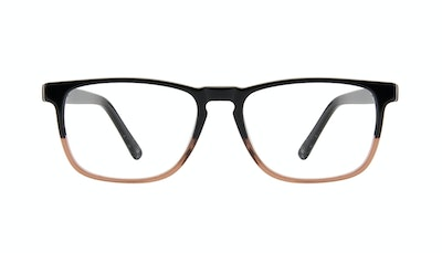Affordable Fashion Glasses Rectangle Eyeglasses Men Loft Wood Terra Front