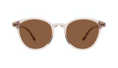 Affordable Fashion Glasses Round Sunglasses Women London Blush Front