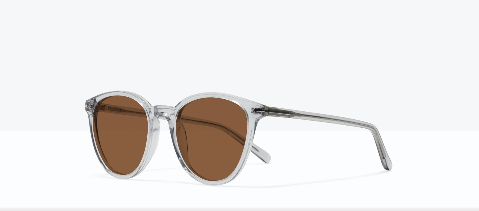 Affordable Fashion Glasses Round Sunglasses Women London Taupe Tilt