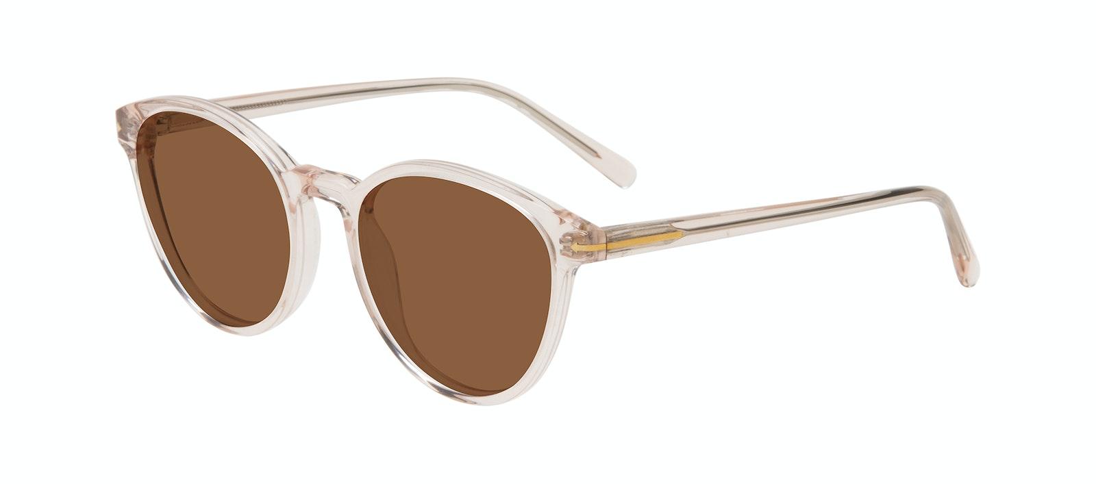 Affordable Fashion Glasses Round Sunglasses Women London Vanilla Tilt