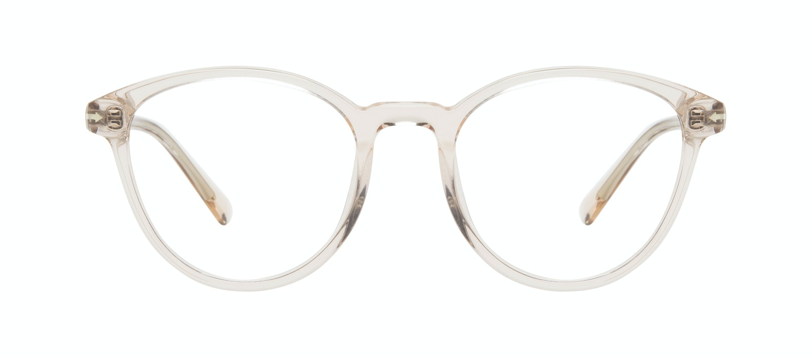 Affordable Fashion Glasses Round Eyeglasses Women London Vanilla Front