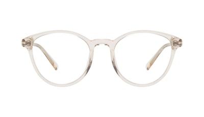 Affordable Fashion Glasses Round Eyeglasses Women London Vanilla Front