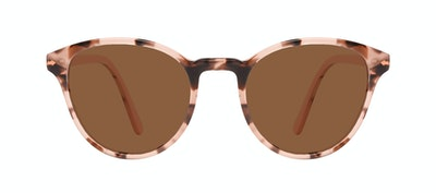 Affordable Fashion Glasses Round Sunglasses Women London Wisteria Front