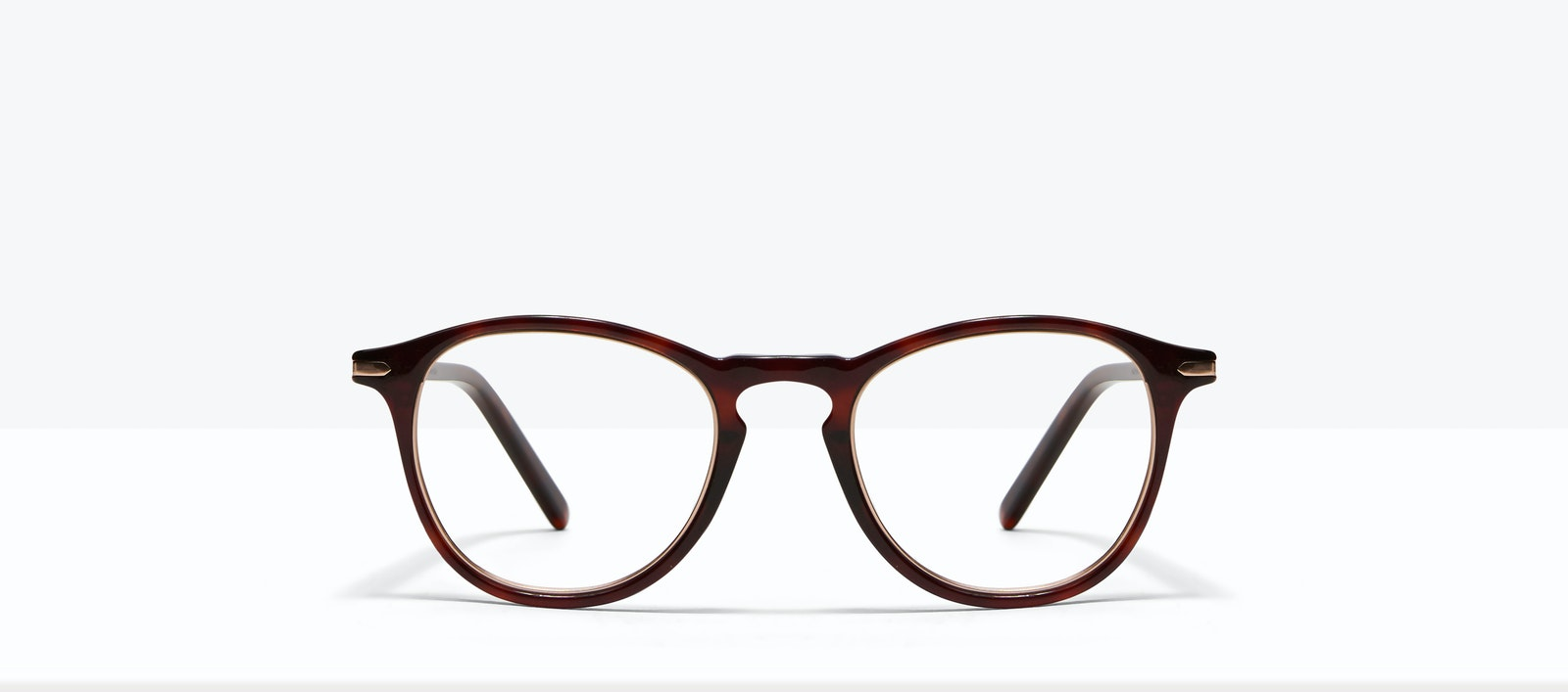 Affordable Fashion Glasses Round Eyeglasses Men Looks Tortoise Front