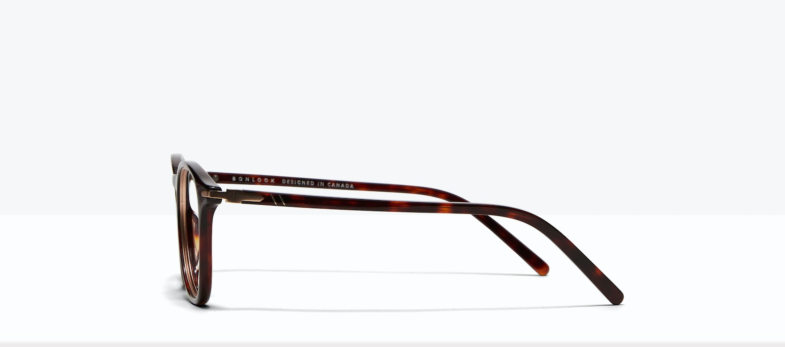 Affordable Fashion Glasses Round Eyeglasses Men Looks Tortoise Side
