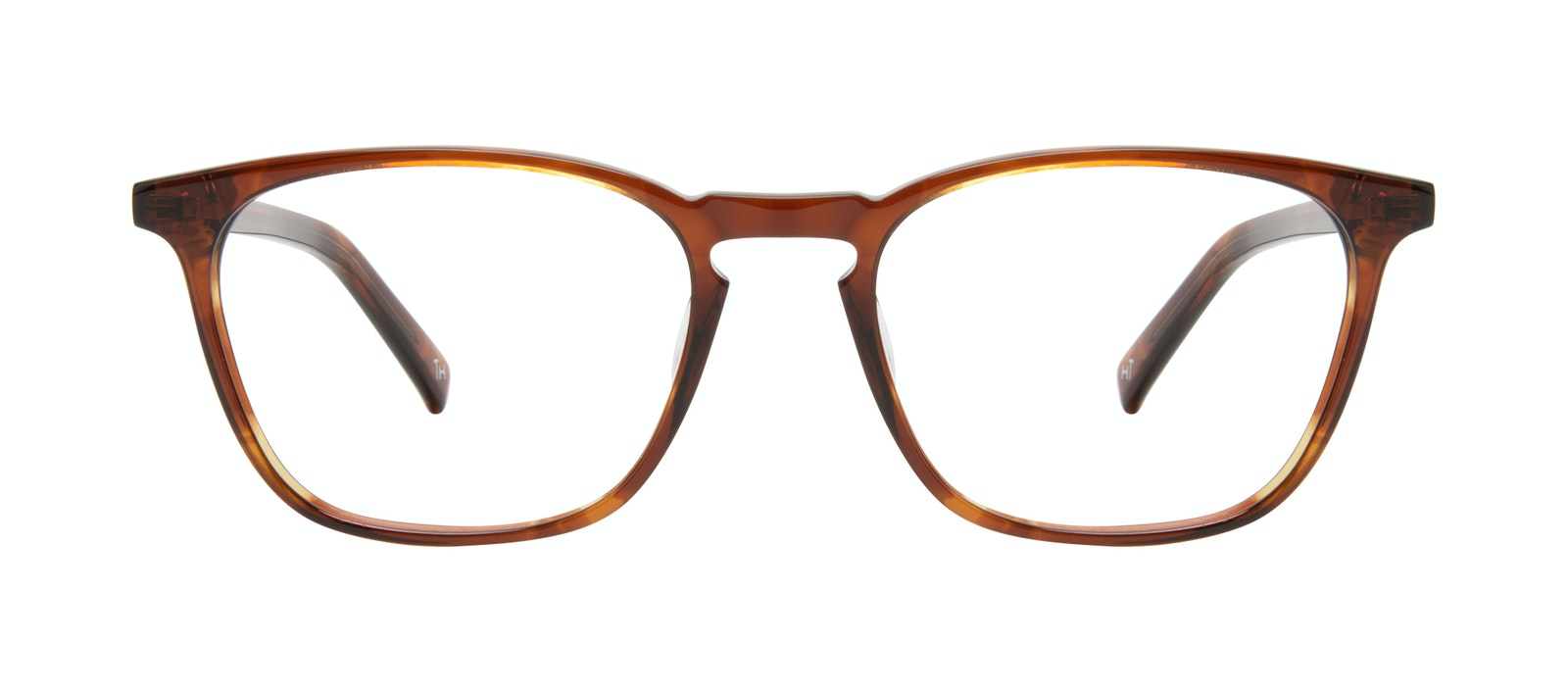 Affordable Fashion Glasses Square Eyeglasses Men Louise XL Cedar Front