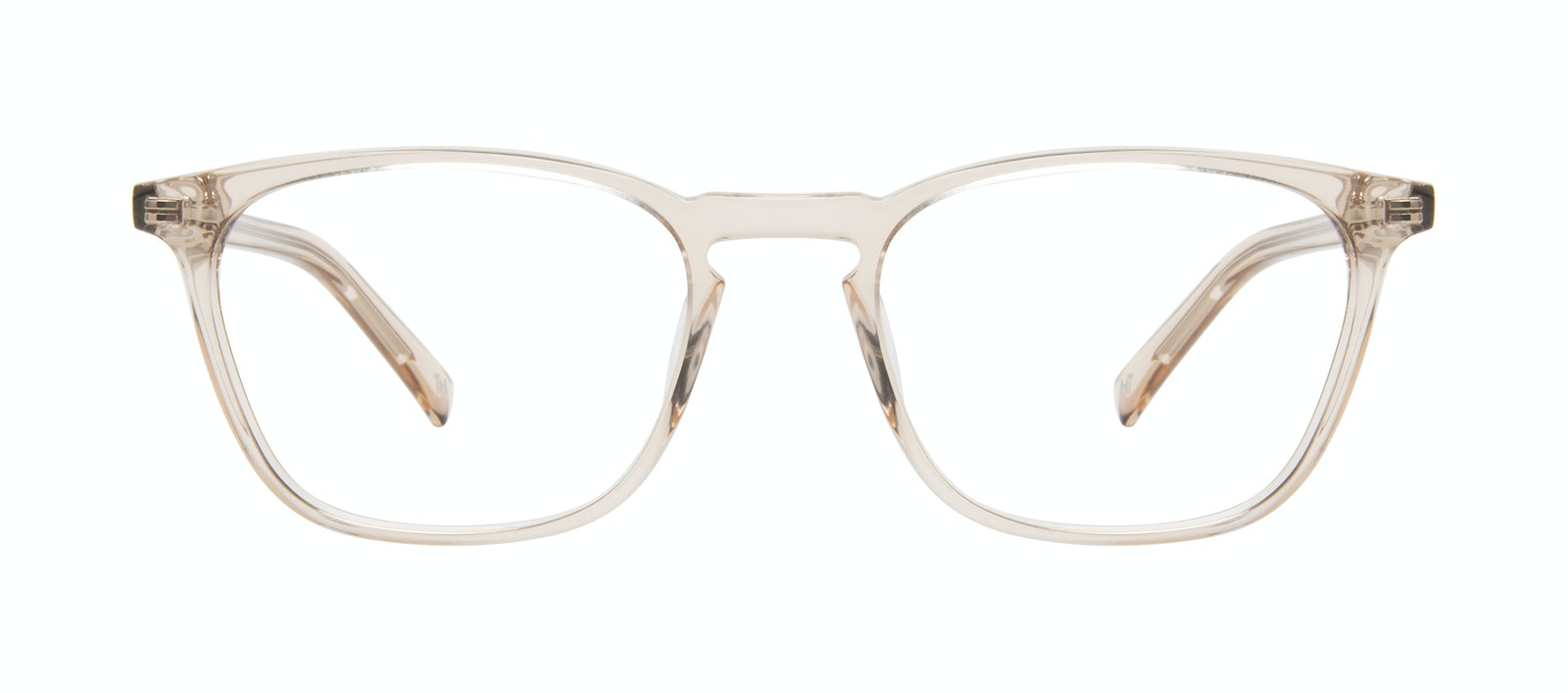 Affordable Fashion Glasses Square Eyeglasses Men Louise Clay Front