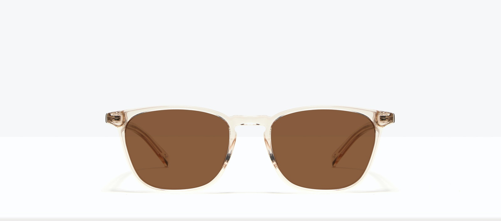 Affordable Fashion Glasses Square Sunglasses Men Louise M Clay Front