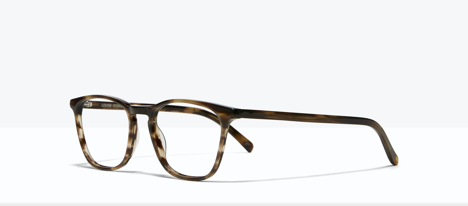 Affordable Fashion Glasses Square Eyeglasses Men Louise Storm Tilt