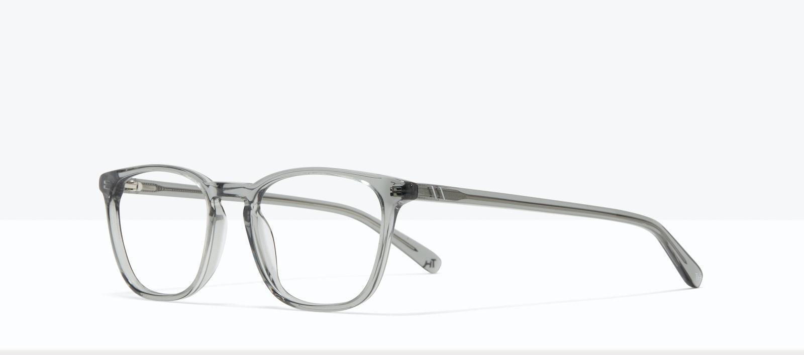 Affordable Fashion Glasses Square Eyeglasses Men Louise XL Storm Tilt