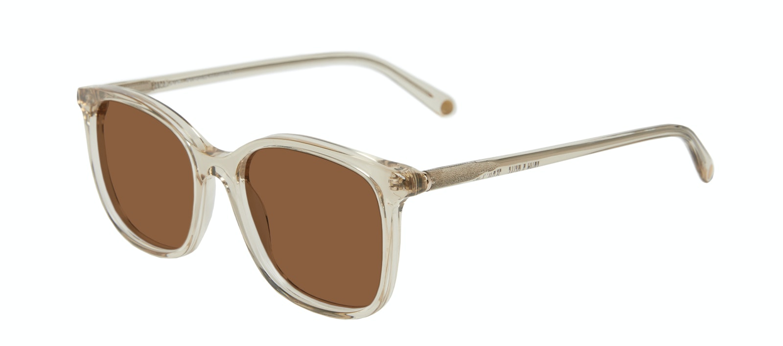 Affordable Fashion Glasses Square Sunglasses Women Luna Olive Tilt