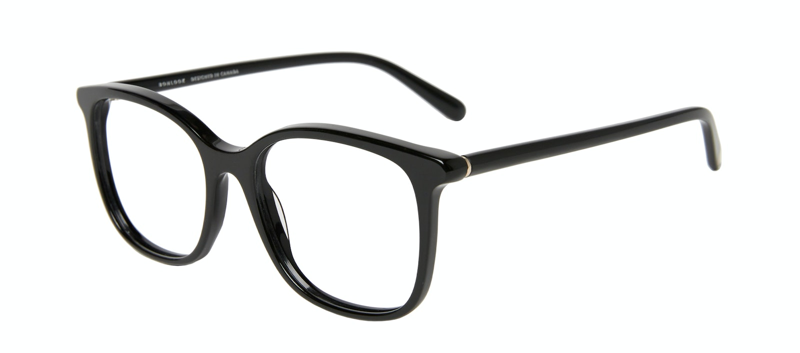 Affordable Fashion Glasses Square Eyeglasses Women Luna Onyx Tilt