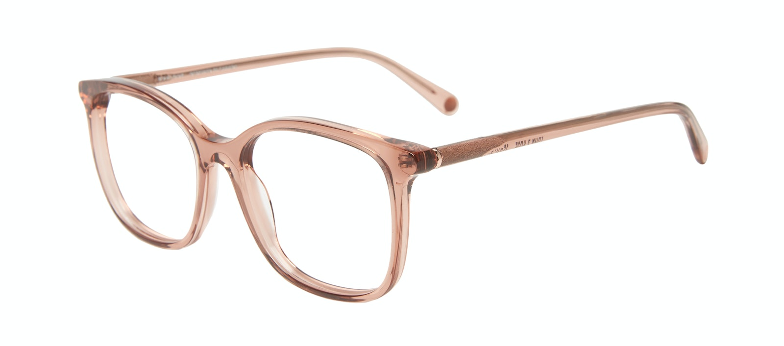 Affordable Fashion Glasses Square Eyeglasses Women Luna Rose Tilt
