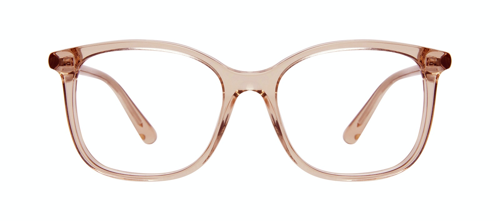 Affordable Fashion Glasses Square Eyeglasses Women Luna Rose Front