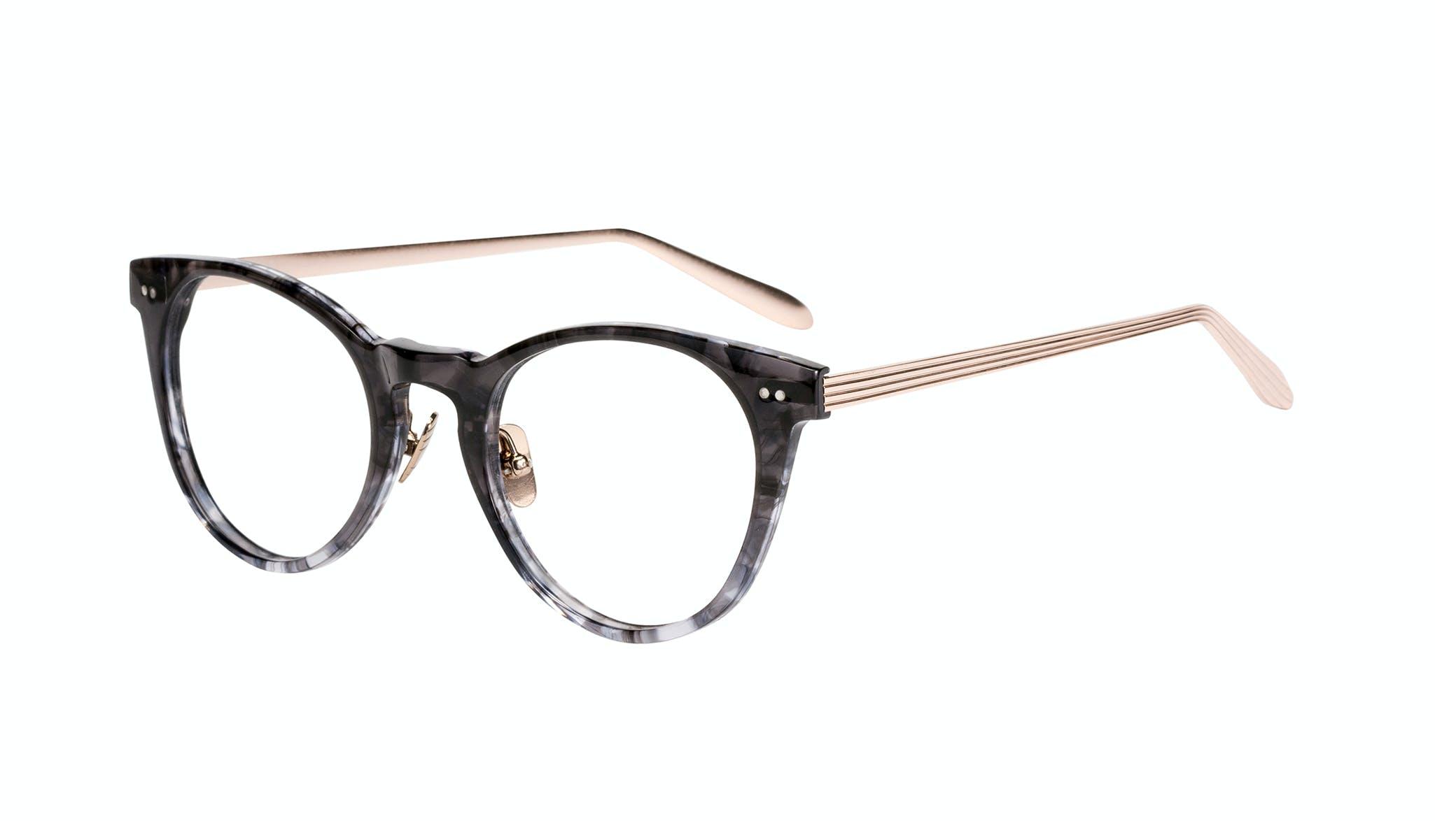 Affordable Fashion Glasses Round Eyeglasses Women Luv Dark Night Tilt