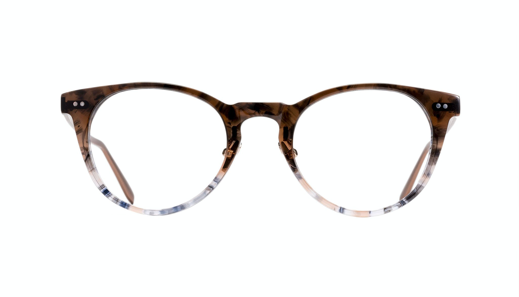 Affordable Fashion Glasses Round Eyeglasses Women Luv Moon Dust Front