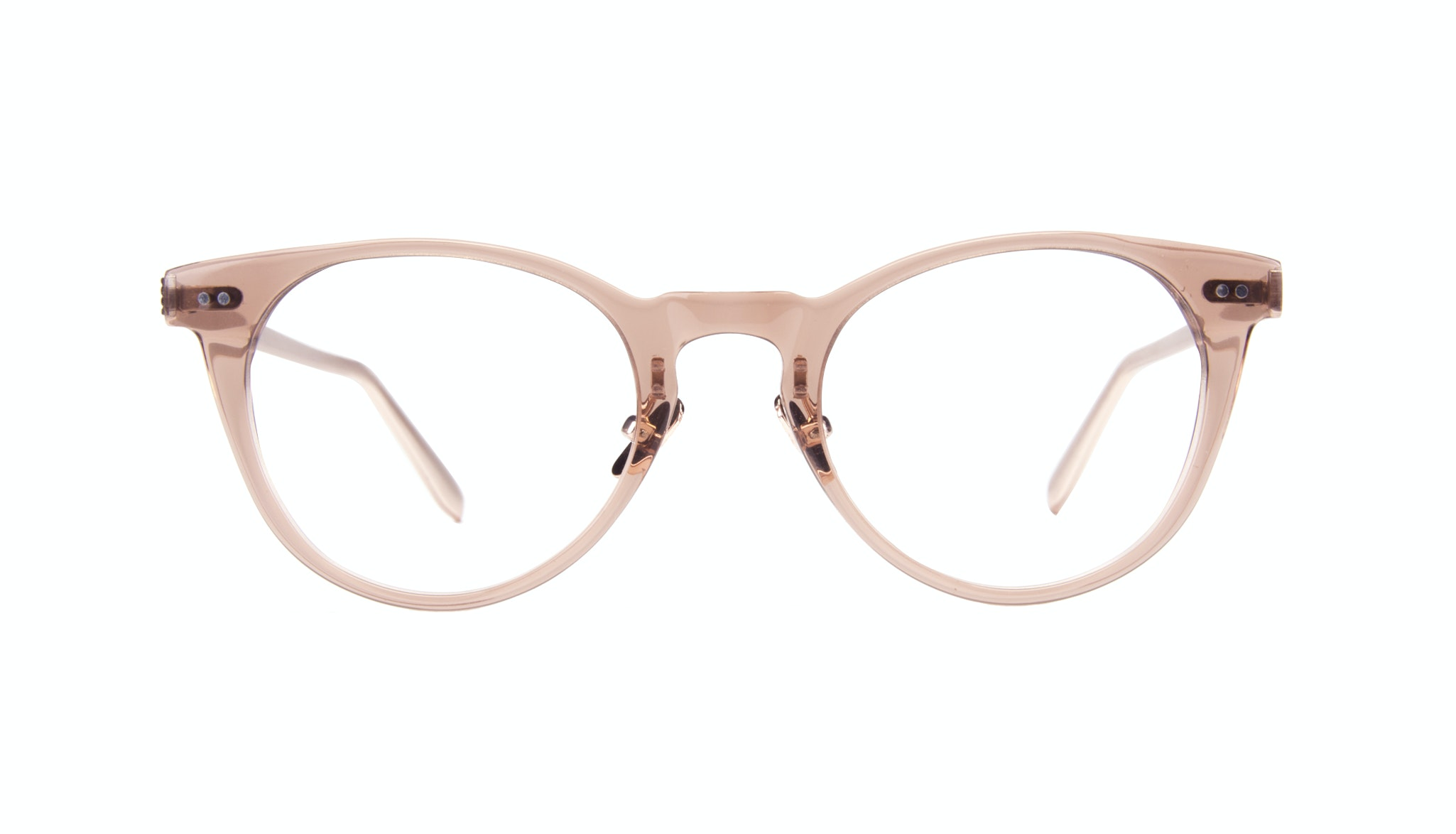 Affordable Fashion Glasses Round Eyeglasses Women Luv Rose Front