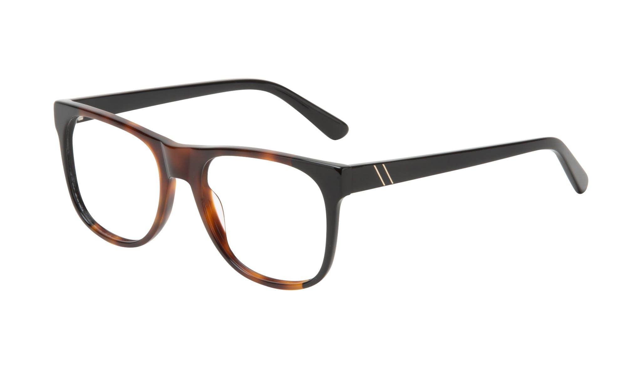 Affordable Fashion Glasses Square Eyeglasses Men Make Black Tort Tilt