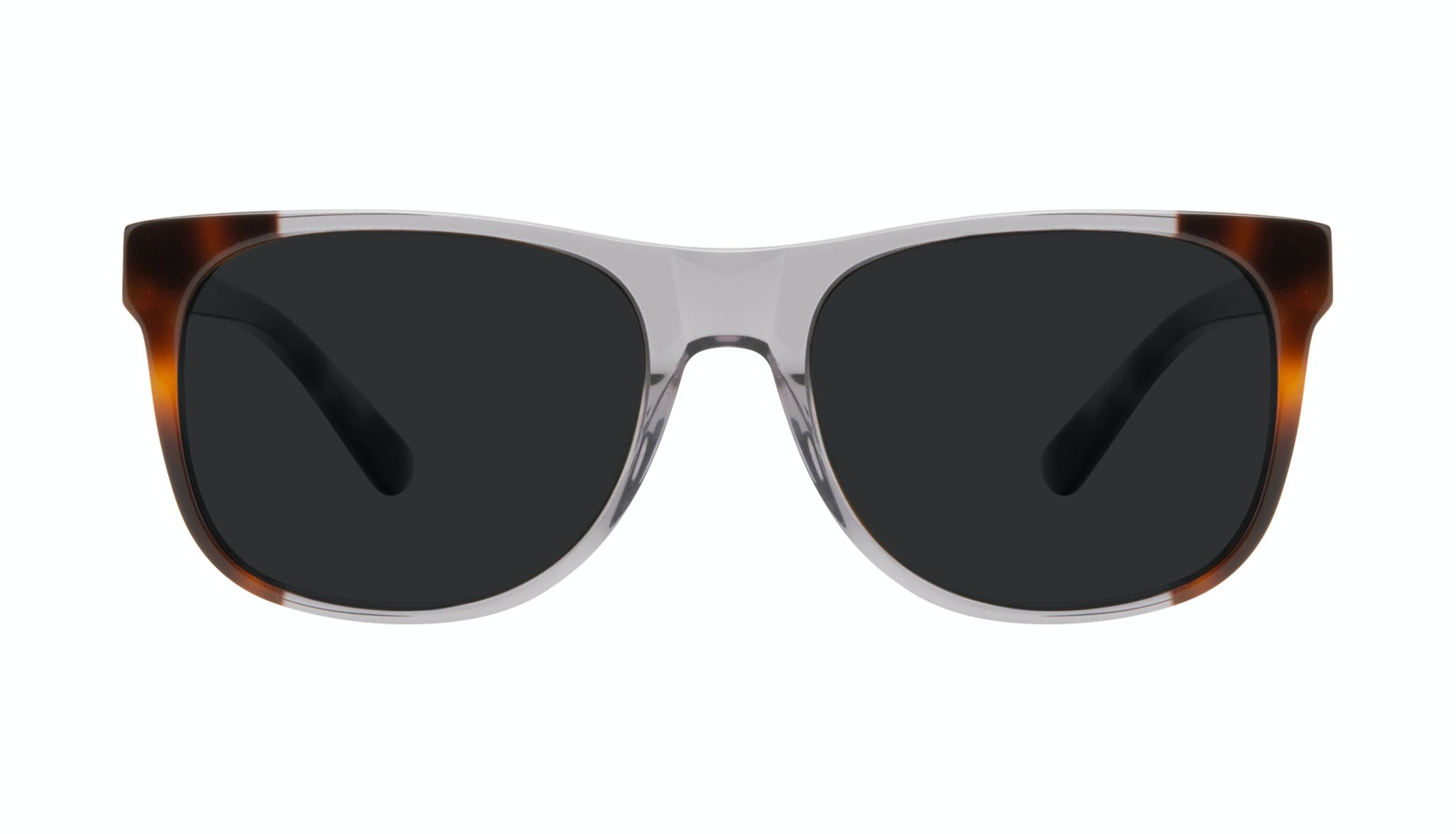 Affordable Fashion Glasses Square Sunglasses Men Make Smokey Tort